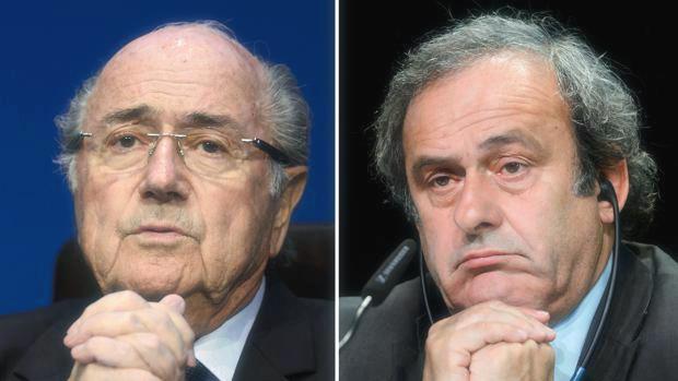 Condanna per Platini e Blatter