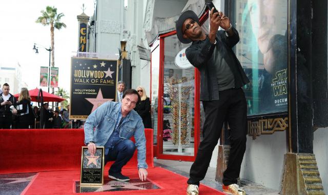Sam L Jackson e Tarantino