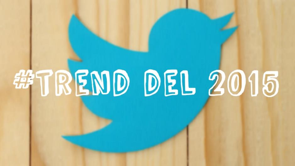 Gli hashtag più usati su twitter nel 2015