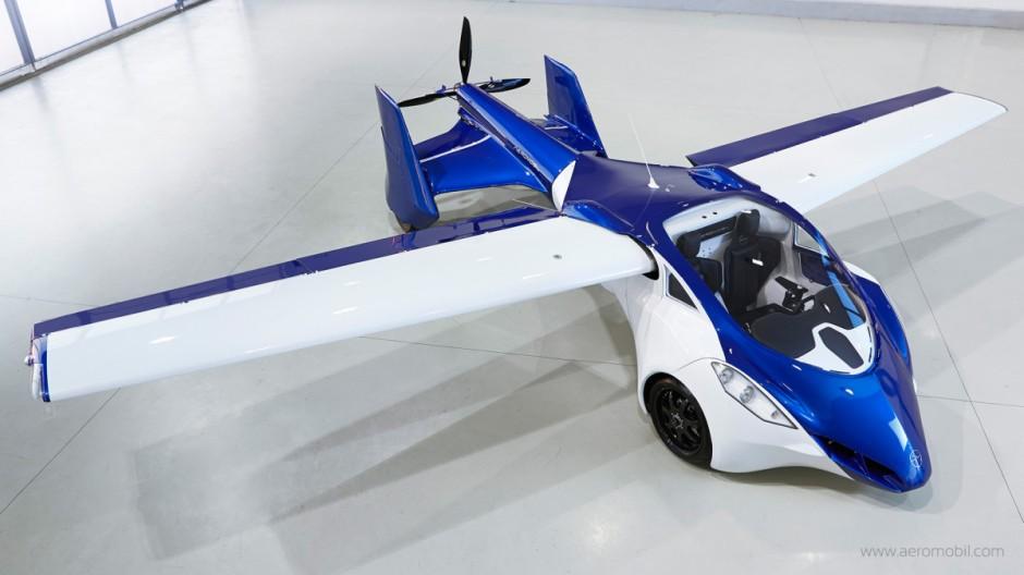 Le automobili volanti non esistono Ci pensa AeroMobil