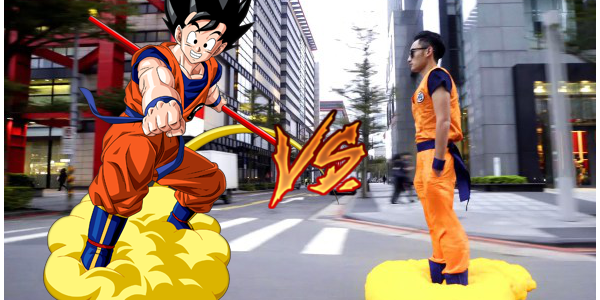 Hoverboard Goku Cosplayer.png