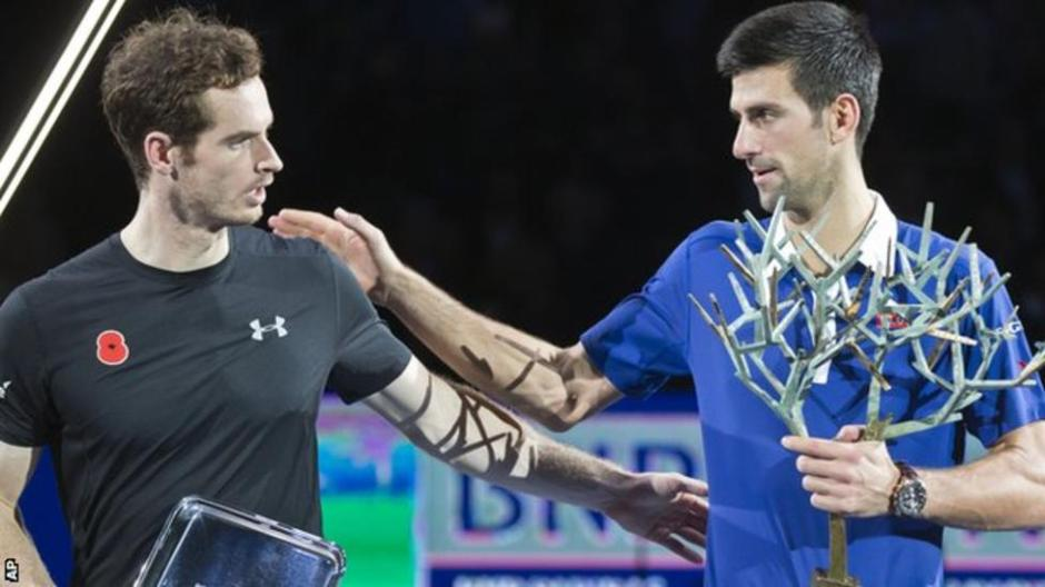Novak Djokovic Australian Open Andy Murray