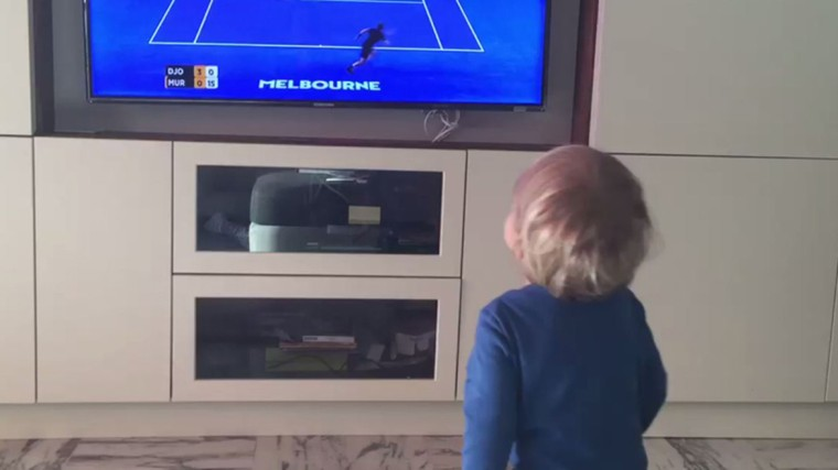 Novak Djokovic figlio