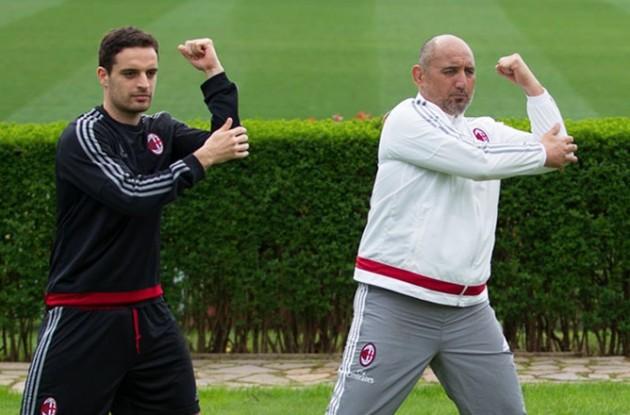 Bonaventura e Coach Maori