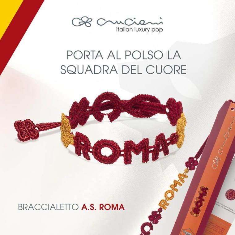 new concept 65444 cc171 Braccialetti Cruciani squadre di calcio (Juventus, Inter ...