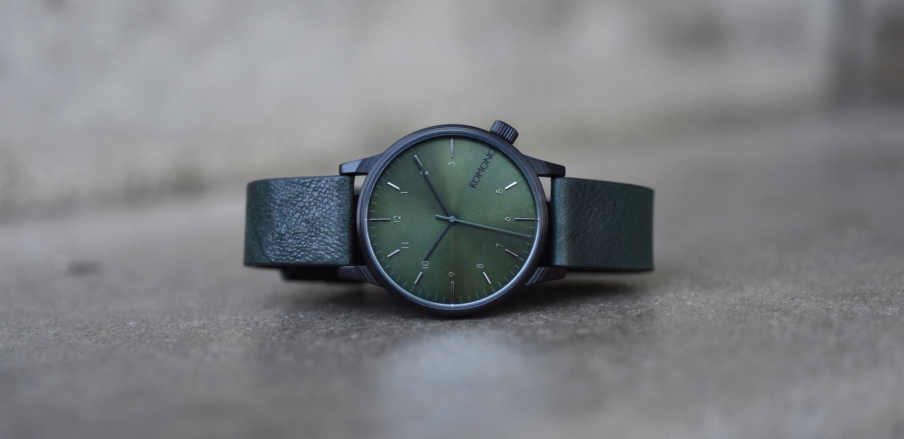L\u0027eleganza degli orologi Komono (recensione)